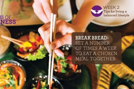 #2013alive: Make Time to Share a Family Meal