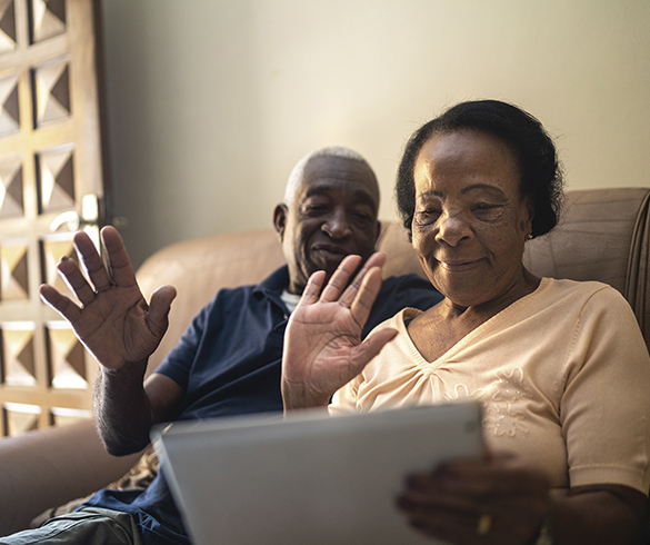 Engage Virtually: Tips for keeping older adults connected - 14915