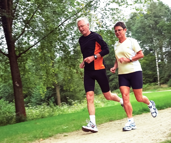 Man and woman jogging. re?id=2760